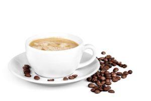 Tasse de café en grains