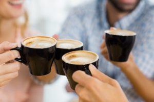 un café convivial